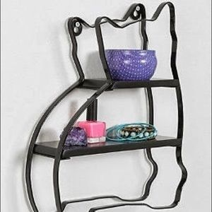 Urban outfitters plum & bow cat curiosity shelf